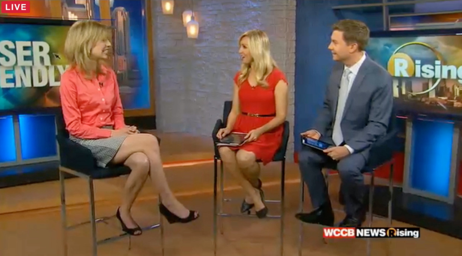 Katie Suggs featured on WCCB TV